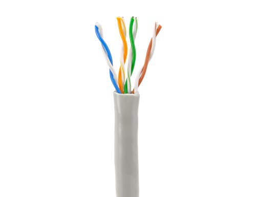 Sewell Direct sw-29875 SolidRun CAT5e CMR CCA Bulk-Kabel, 1000 ', UTP, Light Gray, Pull Box