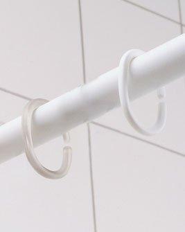 Ring für Duschvorhang 12 Stck glasklar