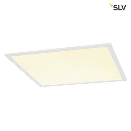 SLV I-VIDUAL PANEL 600x600, LED Indoor Deckeneinbauleuchte, UGR<19 4000K Leuchte, Aluminium, 0 W, weiss