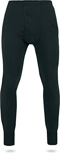 normani Warme Thermo Winter Unterhose mit Plüschfutter Inuvik Farbe Schwarz Größe XXL