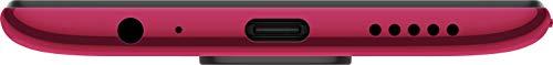 Redmi Note 9 (Scarlet Red, 6GB RAM 128GB Storage) - 48MP Quad Camera & Full HD+ Display