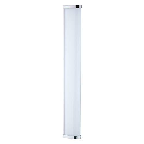 EGLO 94713 A++ to A, Wand-/Deckenleuchte, Integriert, Weiß/ Chrom, 60 x 7.5 x 7.5 cm