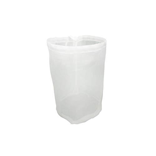 1 bolsa de muselina de 8 tamaños de tela de algodón reutilizable bolsa de filtro de malla fina bolsas de filtro de cocina con cordón para vino, cerveza, mermelada, leche y elaboración casera