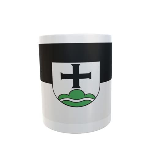 U24 Tasse Kaffeebecher Mug Cup Flagge Achberg