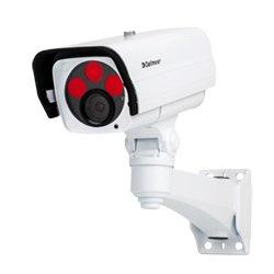 DF5200HD-DN-IR 4,5-10mm Nightline DALLMEIER, HD Kamera, 2 MP, Full HD, 1080p/60, H.264, Tag/Nacht (ICR), integrierte IR-Beleuchtung, motorgetriebenes Varifokal-Objektiv, One-Push Autofokus, P-Iris, PoE, Outdoor-Wandhalterung, F1.6 / 4,5 - 10 mm. Die Kameras der DF5200HD Serie wurden mit einem besonderen Augenmerk auf wechselnde Lichtverhältnisse für eine 24-Stunden-Videoabsicherung entwickelt. Durch die Kombination der modernsten Sensor- und Encoder-Technologie haben die Aufnahmen ausgezei