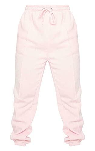 True Face Pantalones de deporte para mujer, de forro polar, estilo informal, para gimnasio, pantalones deportivos