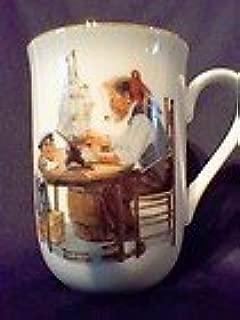 Norman Rockwell A Good Boy Mug - New