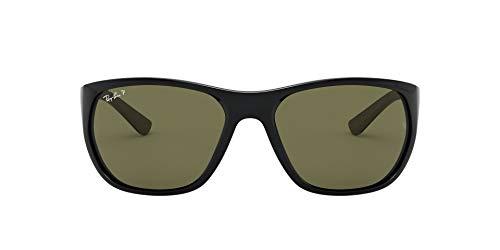 Ray-Ban 0RB4307 Gafas de Sol, Black, 61 para Hombre