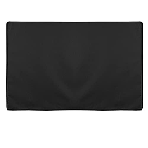 WENYOG Funda TV Exterior Cubierta de Tapa de televisión al Aire Libre Impermeable Oxford Black Television Funda TV 22 '' a 70 '' Pulgada (Color : Black, Specification : 46 Inch to 48 Inch)