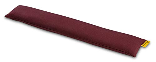 SANTERGO öko-ergonomische Handgelenkauflage für Tastatur mit Bio-Hirsespreu, Handballenauflage zur Vorbeugung von Sehnenscheidenentzündung, thermoregulierend aus natrülichem TENCEL Stoff (wine)