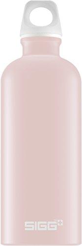 Sigg Lucid Blush Touch, Design Trinkflasche, 0.6 L, Aluminium, BPA Frei, Rosa