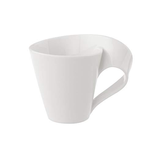 Villeroy & Boch NewWave Tasse, 200 ml, Premium Porzellan, Weiß