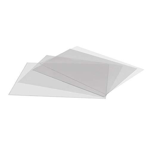DISPLAY SALES Antireflex Schutzfolie (2 St.) DIN A1 0,4 mm dick Ersatzfolie Kundenstopper Klapprahmen