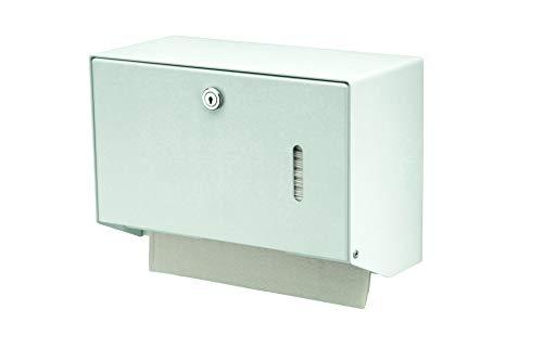 All Care 8165 MediQo-line Distributeur de serviettes en acier inoxydable Blanc