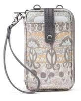 Sakroots One World Smartphone Wristlet Wallet Crossbody Handbag Pastel Owl