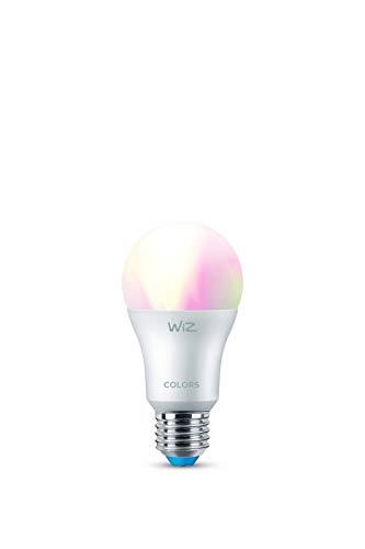 WiZ Lâmpada smart bulbo inteligente 800 lúmens 127V. Controle tudo por voz ou pelo celular, compatível com diversos assistentes de voz, incluindo Amazon Alexa