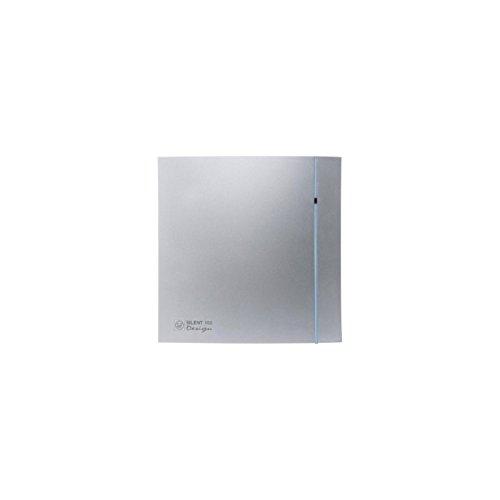 S & p silent-200 - Extractor bano silent-200 crz design silver3 contactos