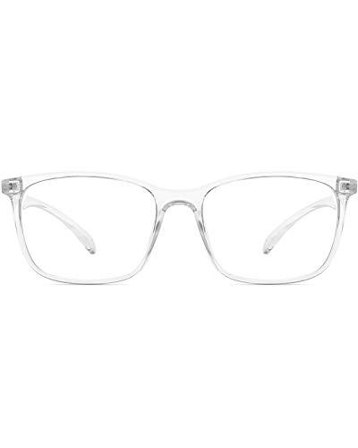 ANRRI Computer Glasses for Blue Light Blocking, Anti Eyestrain Anti Glare Lightweight...