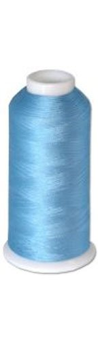 Best Review Of 12-cone Commercial Polyester Embroidery Thread Kit - Baby Blue P631 - 5500 yards - 40...