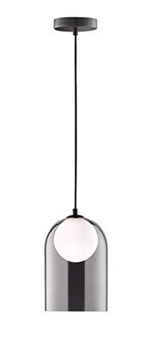 WOFI Grays lámpara colgante, Negro