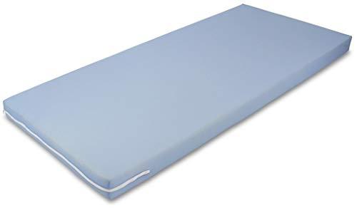 MSS Poly Roll und Schaumstoff Matratze, 80 x 190 cm, blau