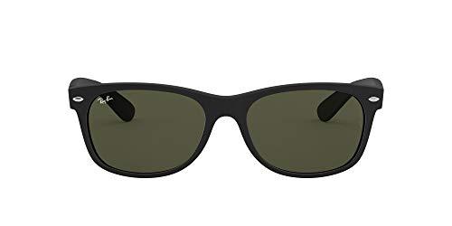 Ray-Ban Unisex-Erwachsene Rb 2132 Brillengestelle, Matte Black, 58