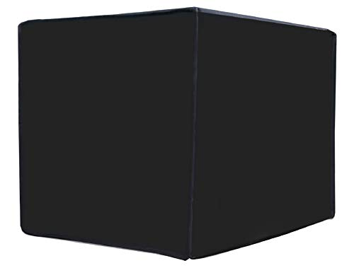 LOOMANTHA miles to go.... Black Polyester Waterproof Window AC Cover