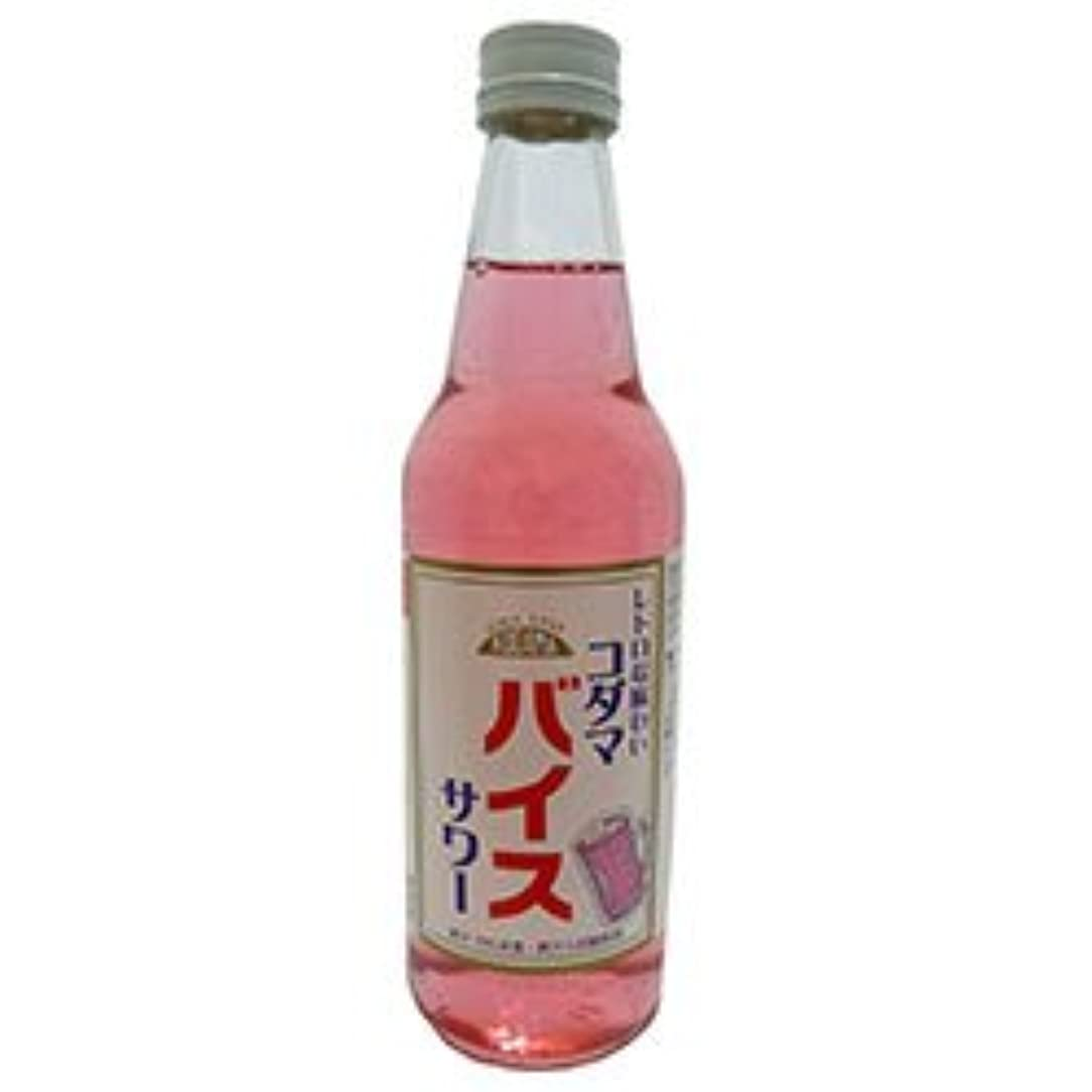 フィット兵士ねばねばコダマ飲料 コダマバイスサワー 340ml瓶×15本入×(2ケース)