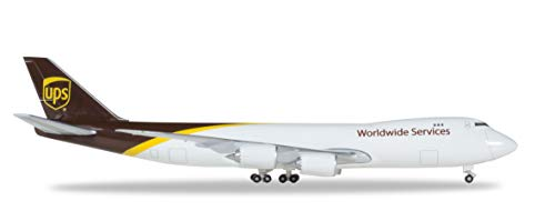 Herpa - UPS Airlines Boeing 747-8F - N607UP - Ali / Pickup Aircraft, multicolore, 531023-001