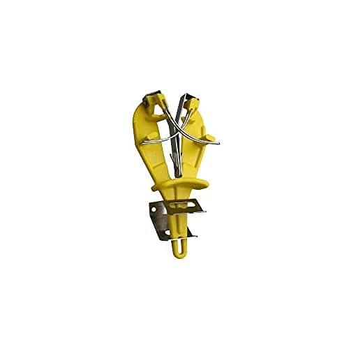 Giesser since 1776 - Made in Germany - Sharp easy, affilacoltelli, con supporto, acciaino, doppia funzione, giallo, 9980