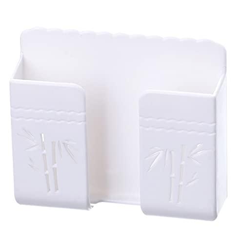 Soporte para teléfono para montaje en pared - Soporte para control remoto Soporte adhesivo para montaje en pared Soportes de carga para teléfono celular - Se usa como soporte de pared para teléfono ce