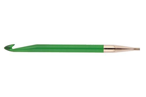 KnitPro 9,00mm Acryl-Häkelnadel, afghanisch/tunesisch, EIN Hakenende, grün