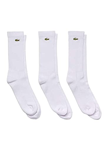 Lacoste Herren RA2099 Socks, Blanc/Blanc-Blanc, 36-40