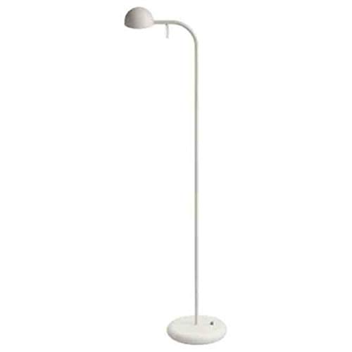 Lámpara de pie, 1 led 4, 48W 350mA, con difusor de policarbonato, serie Pin, color crema , 16 x 25 x 125 centímetros (referencia: 166058/10)