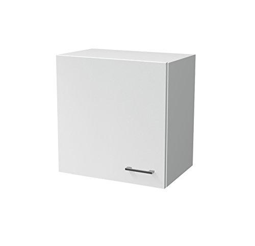 Flex-Well Küchen-Hängeschrank LUCCA | Oberschrank vielseitig einsetzbar | 1-türig | Breite 60 cm | Weiß