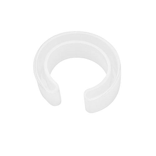 Moldes de fundición de joyería Durable C Font molde de silicona reutilizable brazalete abierto pulsera del molde del molde que hace la herramienta de bricolaje