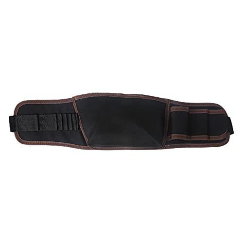 LEXIANG Bolsa de Herramientas de Taladro eléctrico portátil de 1 Pieza, Mantenimiento de góndola, cinturón de Cintura liviano, Bolsa de Cintura, Kit de Estante de Almacenamiento