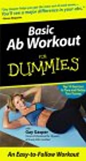 Basic Ab Workout for Dummies [VHS]