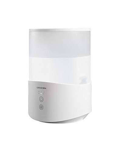 Lanaform Dobra - Humidificador de aire y difusor de aceites esenciales - Tecnología Top Filling