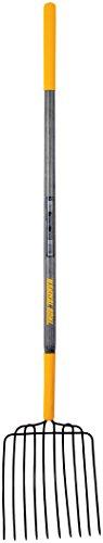 The Ames Companies, Inc 2812400 True Temper 10-Tine Hardwood Handle Bedding Fork