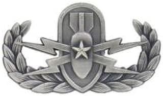 Navy Master Explosive Ordnance Disposal Badge Mirrored Finish - Regulation