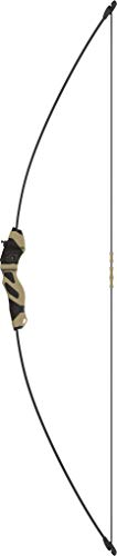 Barnett Quicksilver Recurve Youth Bow, Age 5-8, 15lbs, Mossy Oak Bottomland