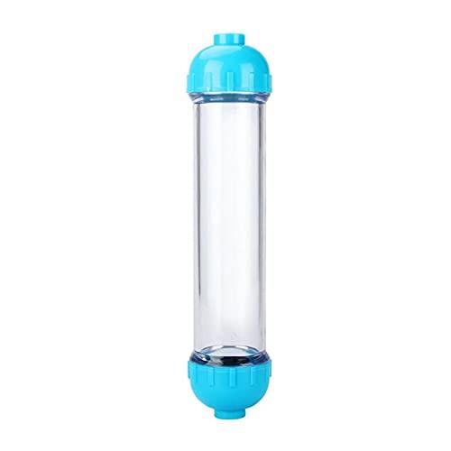 Agua destilada 1PCS T33 Filtro DE Agua Caja de Cartucho DIY T33 Botella de Filtro de cáscara 2pcs Accesorios purificador de Agua para Sistema de ósmosis inversa Filtro de Agua para el Fregadero