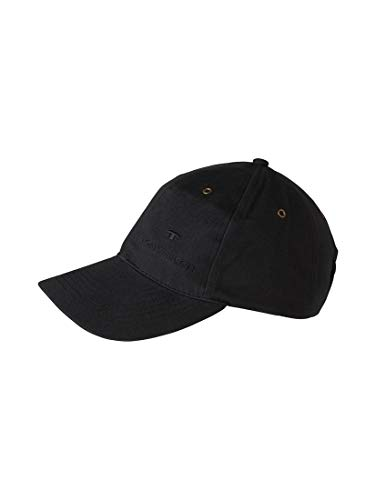 TOM TAILOR Damen Gürtel & Riemen Baseball-Cap mit Stickerei black,OneSize