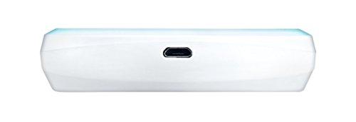 Asus Travelair AC WSD-A1 32GB SSD Flash Externe Festplatte (WLAN, Wifi AC Standard, SD Karten Slot, One-Touch NFC Sensor, Dualband 2,5 und 5 GHz, Micro-USB) weiß