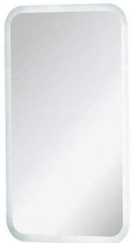 FACKELMANN LED Spiegel / Wandspiegel mit umlaufender LED-Beleuchtung / Maße (B x H x T): ca. 45 x 73 x 3 cm / hochwertiger Badspiegel / moderner Badezimmerspiegel / Breite 45 cm