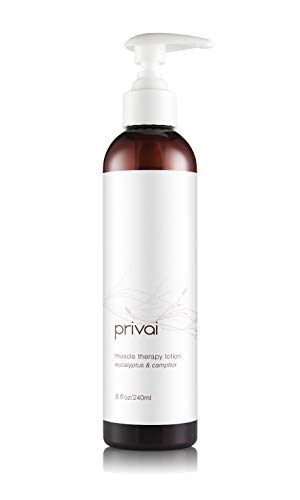 Great Deal! Privai Muscle Therapy Healing Lotion, 8 fl oz, Muscle, Joint, Pain Relief, Vegan, Cruelt...