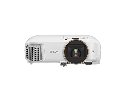 """Epson EH-TW5820 videoproiettore 2D/3D Full HD 1080p, 1920 x 1080, 16:9, Contrasto 70.000:1, 2.700 Lumen, Tecnologia 3LCD, Interfacce USB/HDMI/Bluetooth, Altoparlante, Telecomando, Proiezione fino 300"""""""