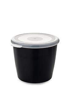 Rosti Mepal Volumia Serving Bowl with Lid 650 ml Black by Rosti Mepal