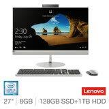 Lenovo AIO 520 i5 8GB 128GB 27.0